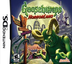 Goosebumps Horrorland Nintendo DS Game Off the Charts