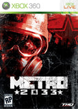 Metro 2033 Xbox 360 Game Off the Charts