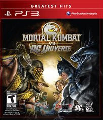 Mortal Kombat VS DC Universe - Off the Charts Video Games