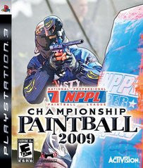 NPPL Championship Paintball 2009 Playstation 3 Game Off the Charts