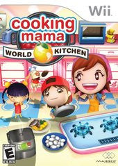 Cooking Mama World Kitchen Wii Game Off the Charts