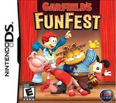 Garfield's Fun Fest Nintendo DS Game Off the Charts