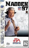 Madden NFL '97 Sega Saturn Game Off the Charts