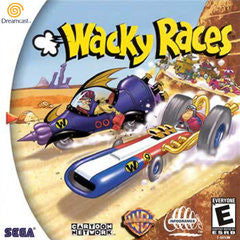 Wacky Races Sega Dreamcast Game Off the Charts