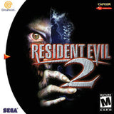 Resident Evil 2 Sega Dreamcast Game Off the Charts