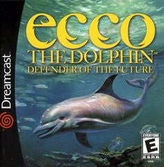 Ecco the Dolphin Defender of the Future Sega Dreamcast Game Off the Charts