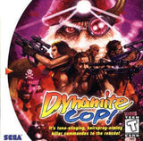 Dynamite Cop Sega Dreamcast Game Off the Charts