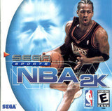 NBA 2K Sega Dreamcast Game Off the Charts