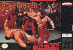 Pit-Fighter Super Nintendo Game Off the Charts