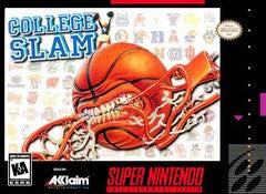 College Slam Super Nintendo Game Off the Charts
