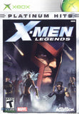 X-Men Legends Xbox Game Off the Charts
