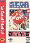 NFL 95 Sega Genesis Game Off the Charts