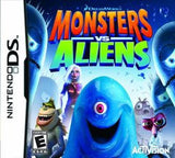 Monsters VS Aliens Nintendo DS Game Off the Charts