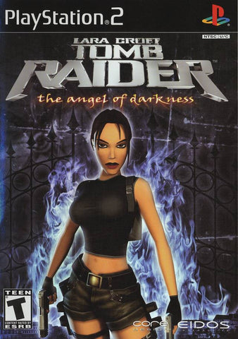 Tomb Raider The Angel of Darkness Playstation 2 Game Off the Charts
