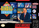 ESPN Baseball Tonight Super Nintendo Game Off the Charts