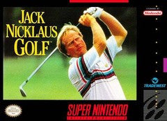 Jack Nicklaus Golf Super Nintendo Game Off the Charts