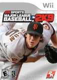 2K Sports Major League Baseball 2K9 Wii Game Off the Charts