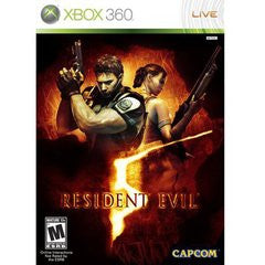 Resident Evil 5 Xbox 360 Game Off the Charts