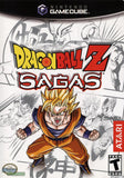 Dragonball Z Sagas Nintendo Gamecube Game Off the Charts