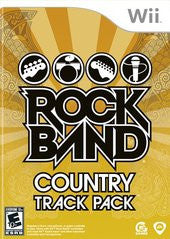 Rock Band Country Track Pack Wii Game Off the Charts