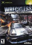 Wreckless The Yakuza Missions - Case Disc and Manual Xbox Game Off the Charts