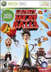Cloudy with a Chance of Meatballs Xbox 360 Game Off the Charts