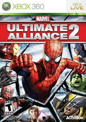 Marvel Ultimate Alliance 2 Xbox 360 Game Off the Charts