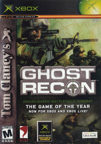 Ghost Recon Xbox Game Off the Charts