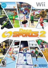 Deca Sports 2 Wii Game Off the Charts