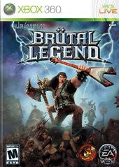 Brutal Legend Xbox 360 Game Off the Charts