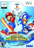 Mario & Sonic at the Olympic Winter Games Wii Game Off the Charts