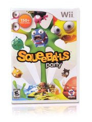 Squeeballs Party Wii Game Off the Charts