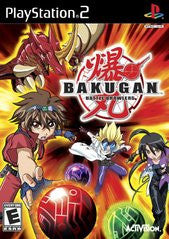 Bakugan Battle Brawlers Playstation 2 Game Off the Charts