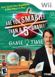 Are you Smarter Than a 5th Grader: Game Time Wii Game Off the Charts