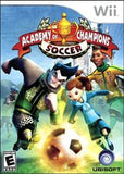 Academy of Champions Soccer Wii Game Off the Charts