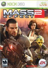 Mass Effect 2 Xbox 360 Game Off the Charts