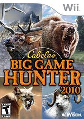 Cabela's Big Game Hunter 2010 Wii Game Off the Charts