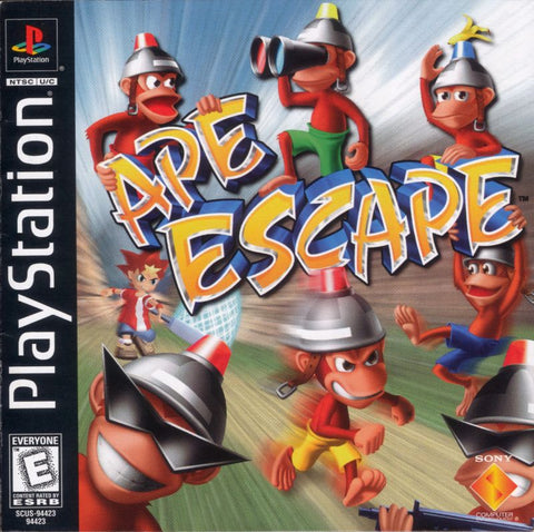 Ape Escape - Black Label Version Complete Playstation Game Off the Charts