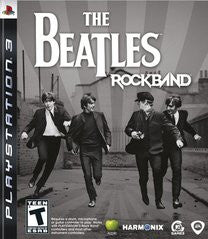 The Beatles Rockband Playstation 3 Game Off the Charts