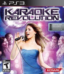 Karaoke Revolution Playstation 3 Game Off the Charts