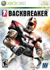 Backbreaker Xbox 360 Game Off the Charts