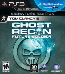 Tom Clancy's Ghost Recon: Future Soldier Playstation 3 Game Off the Charts
