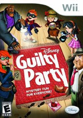 Disney Guilty Party Wii Game Off the Charts