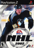 NHL 2002 Playstation 2 Game Off the Charts