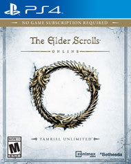 Elder Scrolls Online Playstation 4 Game Off the Charts