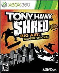 Tony Hawk SHRED Xbox 360 Game Off the Charts