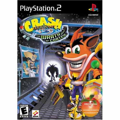 Crash Bandicoot: The Wrath of Cortex Playstation 2 Game Off the Charts