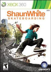 Shaun White Skate Boarding Xbox 360 Game Off the Charts