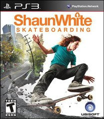 Shaun White Skateboarding Playstation 3 Game Off the Charts
