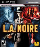 L.A. Noire Playstation 3 Game Off the Charts